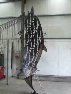 john-hogan-hand-forged-ironwork-georgian-art-nouveau-gates-blacksmith-mayo-ireland-salmon7