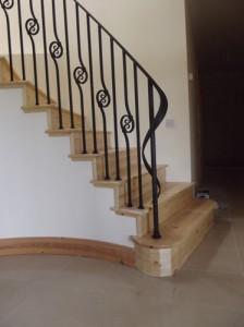 john-hogan-hand-forged-ironwork-georgian-art-nouveau-gates-blacksmith-mayo-ireland-stairs-2-1