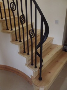 john-hogan-hand-forged-ironwork-georgian-art-nouveau-gates-blacksmith-mayo-ireland-stairs-2-2