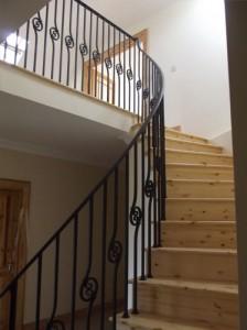 john-hogan-hand-forged-ironwork-georgian-art-nouveau-gates-blacksmith-mayo-ireland-stairs-2-4