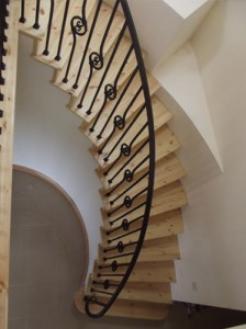 john-hogan-hand-forged-ironwork-georgian-art-nouveau-gates-blacksmith-mayo-ireland-stairs-2-5