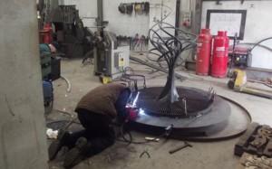 john-hogan-hand-forged-ironwork-georgian-art-nouveau-gates-blacksmith-mayo-ireland-workshop6