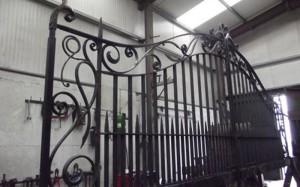 john-hogan-hand-forged-ironwork-georgian-art-nouveau-gates-blacksmith-mayo-ireland-workshop7